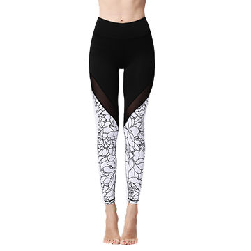 02da2d64ebc4 China Women's sports pants ladies legging fitness splicing leggings  seamless yoga pants for woman ...