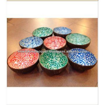Vietnam Product Categories U0026gt; Coconut Bowl   Vietnam Eggshell Seashell  Lacquer Coconut Bowl
