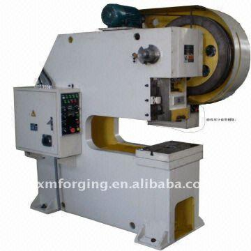 Power Brand c frame 63 ton pneumatic type deep throat power press ...