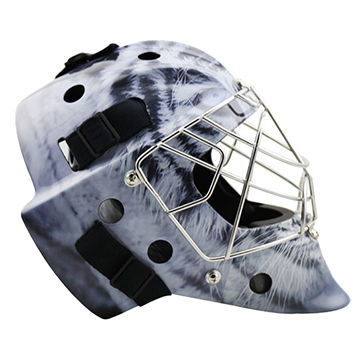 Cool Design Carbon Fiber Goalie Helmet Ice Hockey Mask Face Guard