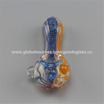 China Wholesale Glass Smoking Pipes Spoon DAB Wax Tobacco