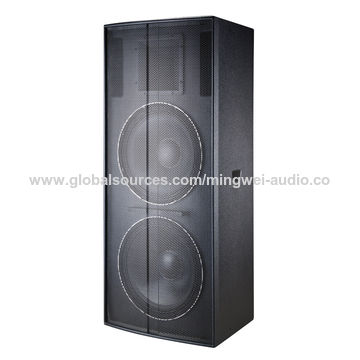 China 2017 high quality digital passive pro speaker stage audio system