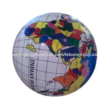 China lovely looking pvc inflatable ball with world map printing lovely looking pvc inflatable ball china lovely looking pvc inflatable ball gumiabroncs Image collections