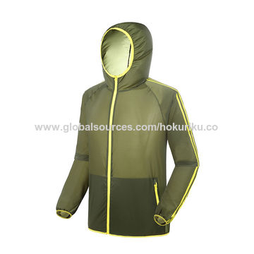 China 2015 anti-UV summer outdoor men skin jacket