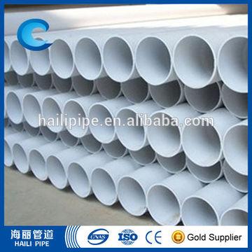 Irrigation PVC pipe, large size irrigation PVC pipe, plastic