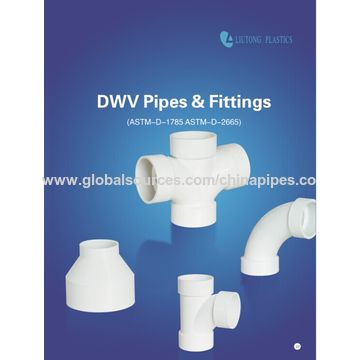 ... China Long Bend PVC Pipe Fittings for DWV with ASTM D2665 Standard NSF Certified ...  sc 1 st  Zhejiang Liutong Plastics Co Ltd - Global Sources & China Long Bend PVC Pipe Fittings from Taizhou Manufacturer ...