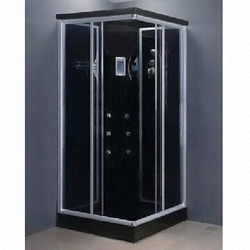 black corner shower cabin suitable for shampoo holder and back jets rh globalsources com