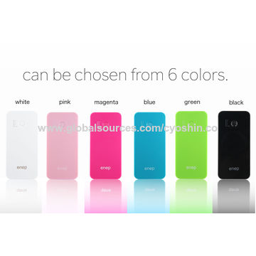 China 3100mAh External Battery Power Bank, Portable Charger with USB Output and 2.1A Input