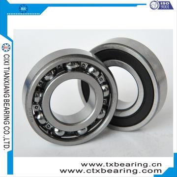 China Fan motor remote control bearing, industrial deep groove ball bearing