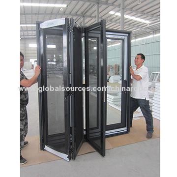 UPVC Folding Glass Door China UPVC Folding Glass Door