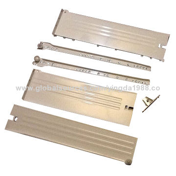 telescopic drawer channel/ kitchen cabinet drawer slide parts from ...