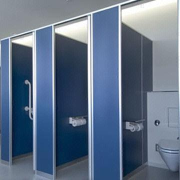 Clean Booth Reinforced PanelRobust Type Of Toilet Partition With Gorgeous Bathroom Partitions Set
