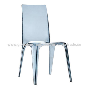 ... China High Back Transparent PC Clear Plastic Chair