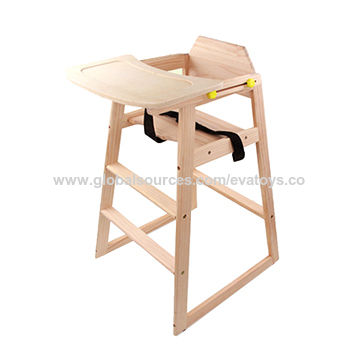95ed372db822 China Wooden baby high chair for sale W08F048 on Global Sources
