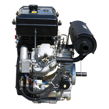 Two cylinder 24HP air-cooled diesel engine | Global Sources