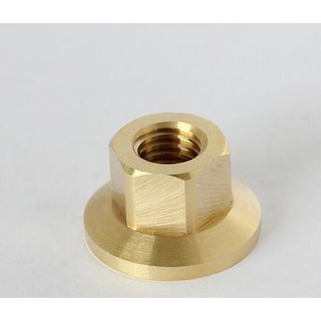 China Brass Nuts, Produce by CNC Lathe, Customized are Accepted, ISO 9001 Passed