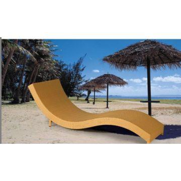 China Product Categories U0026gt; Rattan Lounger   Cheap Outdoor Sun Lounger,s  Shape Beach