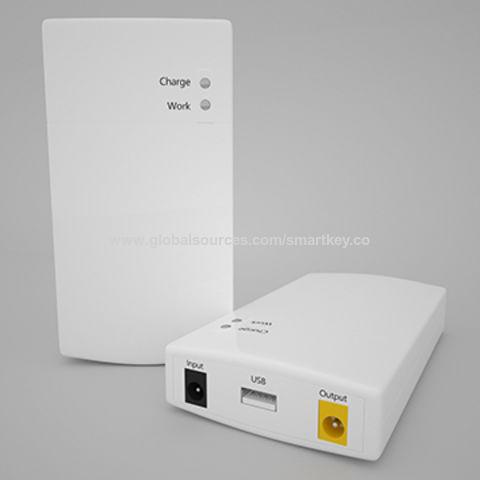 be2d02906f4 China SKE MINI DC UPS 12V 2.5A CCTV Camera Router Uninterrupted power  supply ...