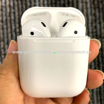 China Airpods 2nd Gen Original For Iphone Support Wirelesss Charging Pop Up Function Bluetooth Headphone On Global Sources Airpod Bluetooth Headphone Apple Airpod