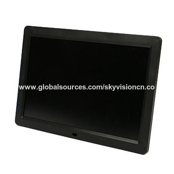 Digital Photo Frames Camera & Photo Accessories Multifunctional 12 Lcd Digital Photo Frame 1280*800 High Resolution Picture Frame With Wireless Remote Control Built-in Speaker Good Reputation Over The World