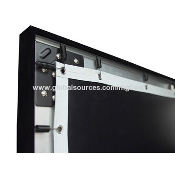 120 4k fixed frame projector screen for home theater