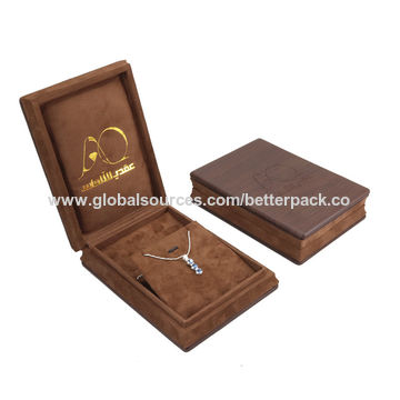 China Necklace Packaging Jewelry Box from Jinhua Wholesaler Jinhua