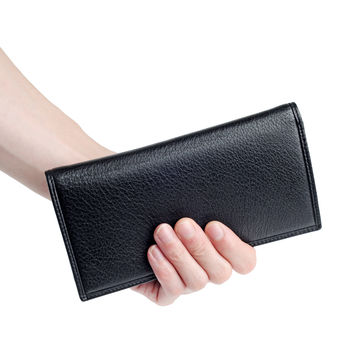China Men's leather wallet, made of genuine leather, multi-function