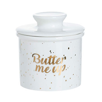 Serving Butter Easy for Bread Lovers Breakfast Kitchen Counter French Butter Dish Keeps the Butter Fresh Soft /& Spreadable Green SWEEJAR Porcelain Butter Crock Keeper