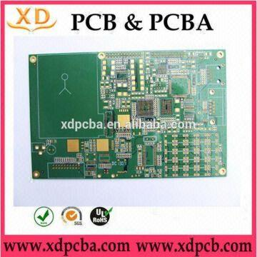 HASL 4-layer gold finger pcb circuit board with BGA | Global Sources