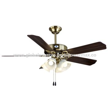 "China 52"" Ceiling Fan with Lighting"