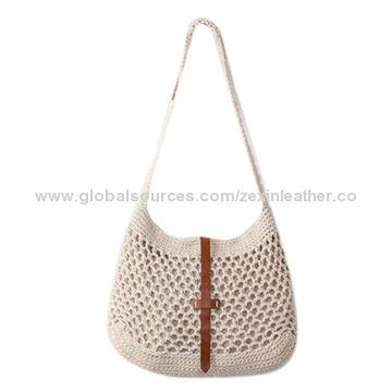Crochet Messenger Bag China