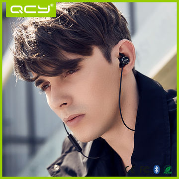 China 2017 QCY Sports Waterproof Bluetooth Earphone Stereo Headset Four Colors