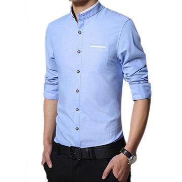 e074e1460ff7 China Men's long sleeved casual shirts breathable anti-wrinkle men casual shirt  dress shirt ...