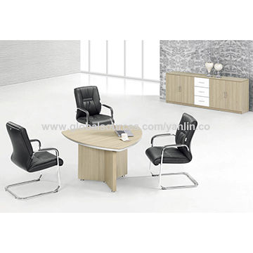customized design high quality triangular conference table global