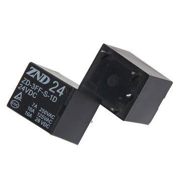 China 3FF(T73) 4Pin Silver Contact Power Relay 7A 24V