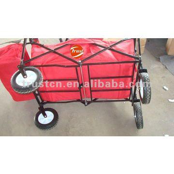 ... China Folding Cart   Folding Wagon/garden Wagon Cart Str