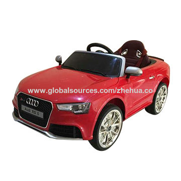 China Audi RS Licensed Ride On Car From Shenzhen Manufacturer - Audi 6v ride toy cars