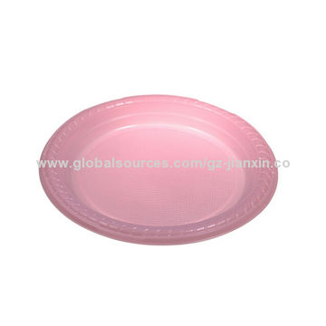 Customized Disposable Plastic Plate, Party Supply | Global Sources
