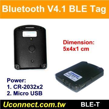 Bluetooth V4.1 BLE Active RFID Tag