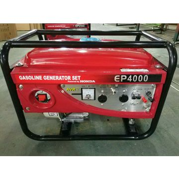 5kW 5000W gasoline generator with wheels and handle electric start
