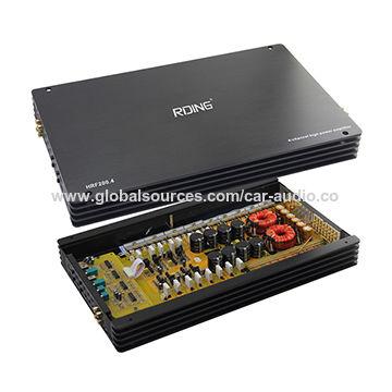 China Car Amplifier Car Audio Car Sound System From Guangzhou
