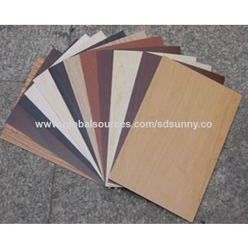 ... China HPL decorative high-pressure laminate for wooden grain table top/work top/ ...