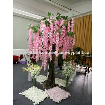 china wisteria flower tree from dongguan manufacturer: wangyang