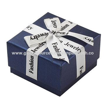 China Custom High End Jewelry Packaging Box Ring Box Jewellery
