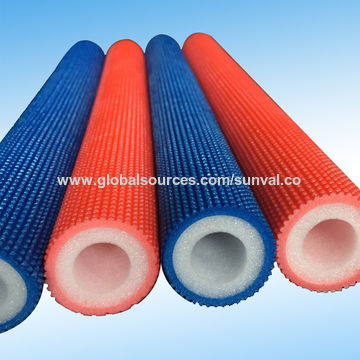 Hot Water Color Foam Pipe Insulation for Steam Pipe   Global