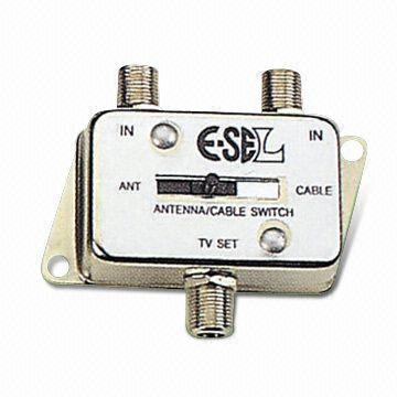 two way antenna to cable tv switch global sourcestaiwan two way antenna to cable tv switch