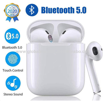 China Bluetooth 5 0 Earbuds Tws I12 Earphones Wireless Headphones 3d Stereo Clear Sound Headsets On Global Sources