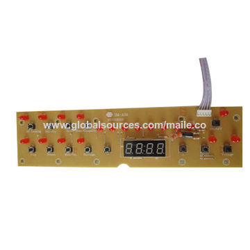 China Induction Cooker, Skin Touch Control, Glass with colorful printing
