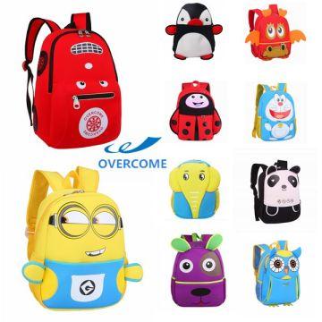 09703b28d9 China Hot Selling High Quality Lovely 3D Cartoon Neoprene Kids School Bag  Backpack