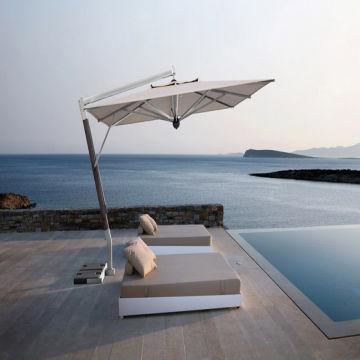 Scolaro Parasols: Aluminium Side Pole Parasol Umbrella for Swimming ...